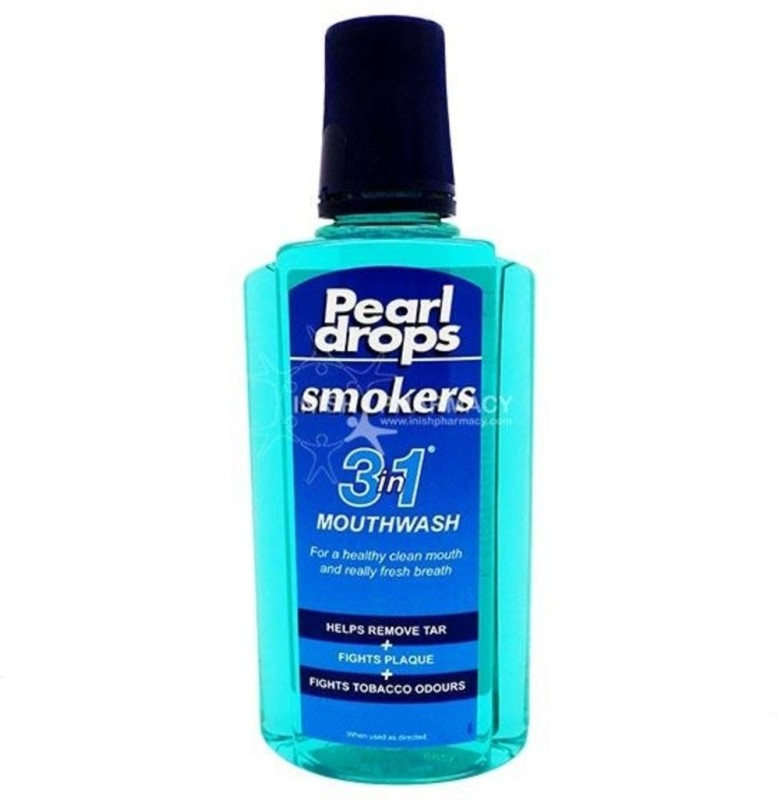 Pearl Drops Smokers 3 in 1 Mouthwash (Made in UK) - Mint(400 ml)