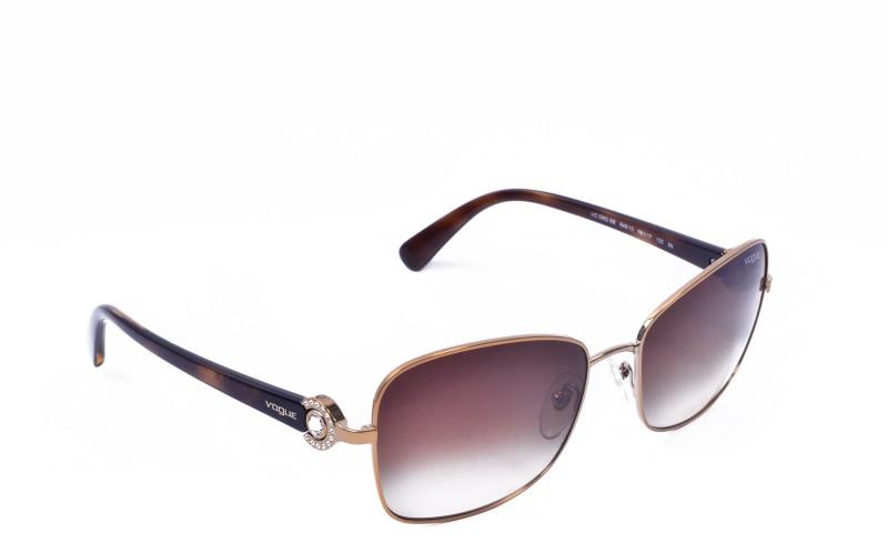 Vogue Rectangular Sunglasses(Multicolor)