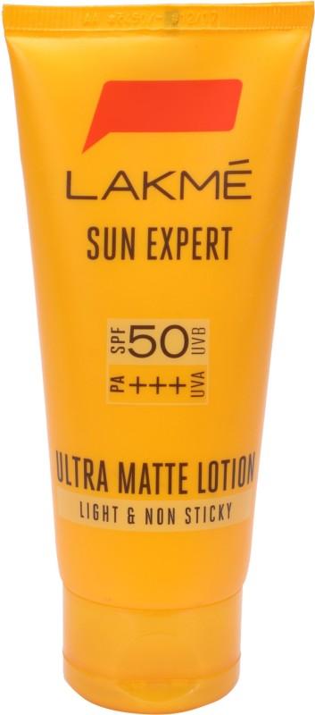 Lakme Sun Expert Ultra Matte Lotion - SPF 50 PA+++(100 ml)