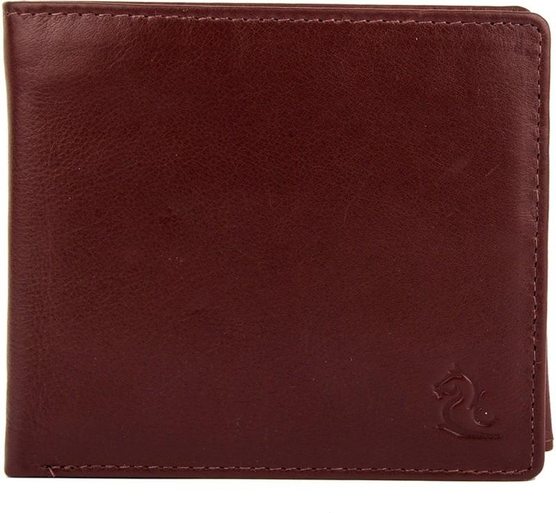Kara Men Tan Genuine Leather Wallet(7 Card Slots)
