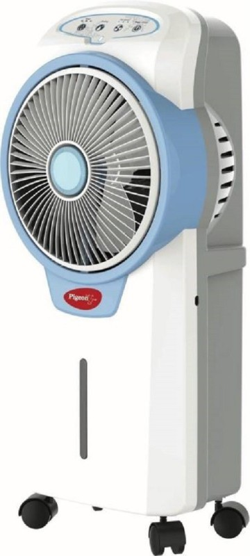 Pigeon 15 L Room/Personal Air Cooler(WHITE BLUE, CONSTACOOL)