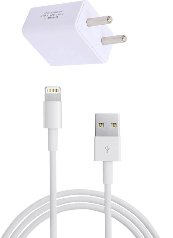 Felicity APP_374 1 A Tablet Charger with Detachable Cable(White, Cable Included)