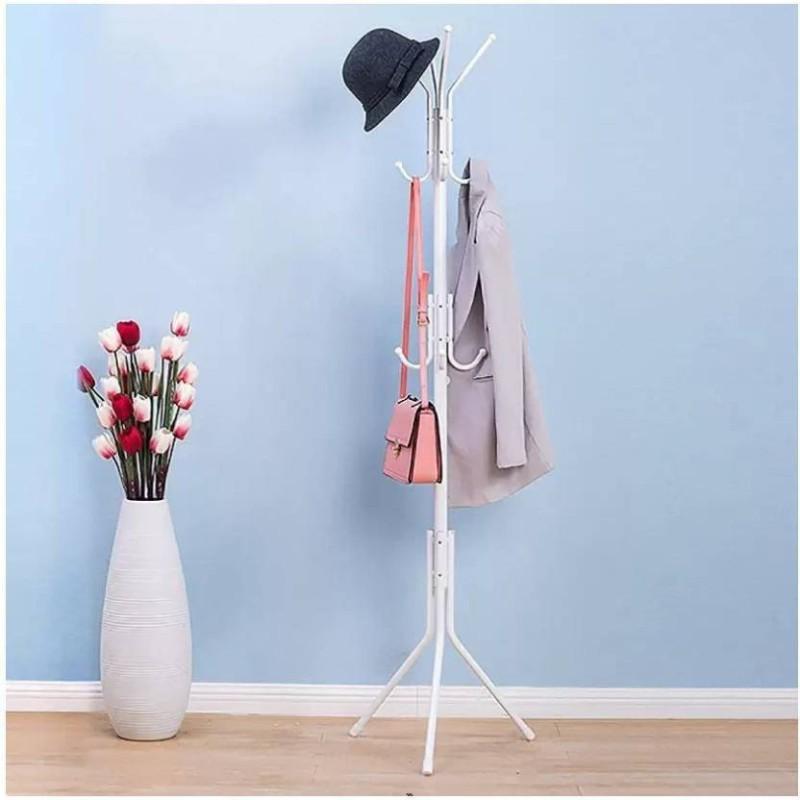 Brecken Paul brecken pau hat and coat rack Silicone Floor Cloth Dryer Stand(White)