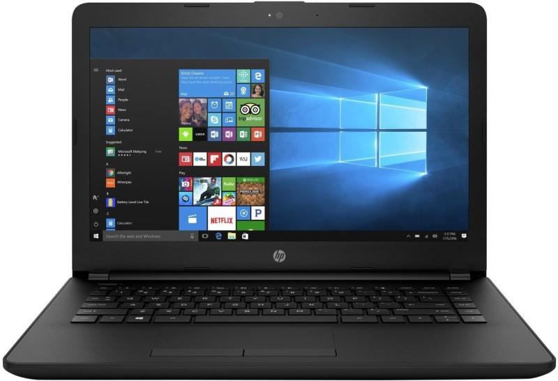 HP Notebook Celeron Dual Core - (4 GB/500 GB HDD/Windows 10) 14Q-BU007TU Laptop(14 inch, Jet Black) image
