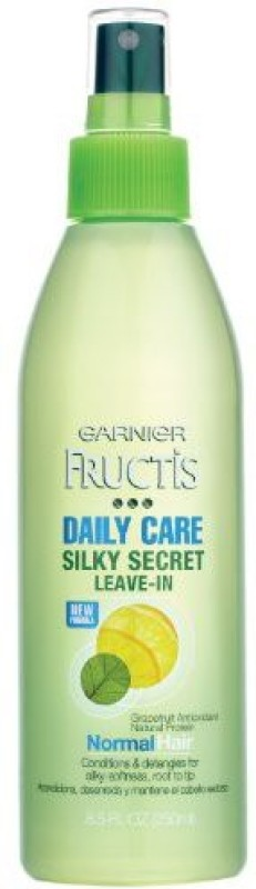 Garnier Silky Secret Leave-In Daily Care Conditioner, 8.5 Fluid Ounce(251 ml)