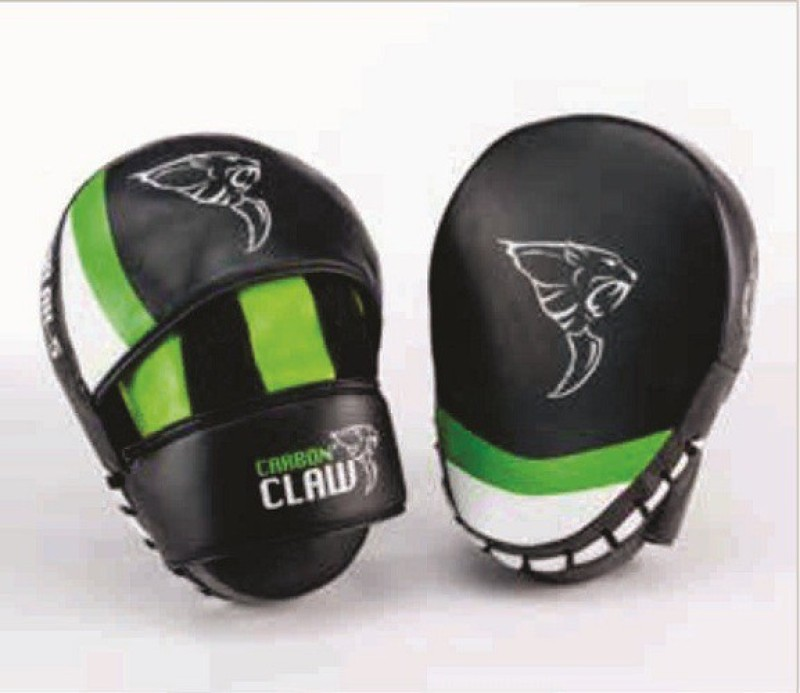 CARBON CLAW HOOK & JAB CURVED Focus Pad(Black, Green)