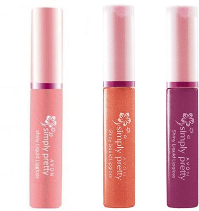 Avon Anew Simply Pretty Shiny Liquid Lipgloss(9, Multi color)