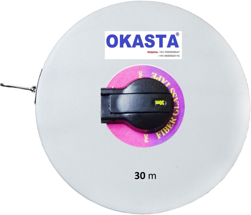 OKASTA OK30M OK30M FIBERGLASS Fine Quality Accurate Single Unit Measuring Wheel