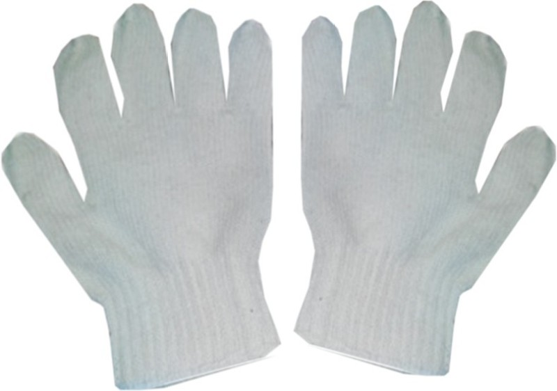 JK CG-10 COTTON GLOVES PACK OF 10 PAIRS Synthetic Safety Gloves(20)