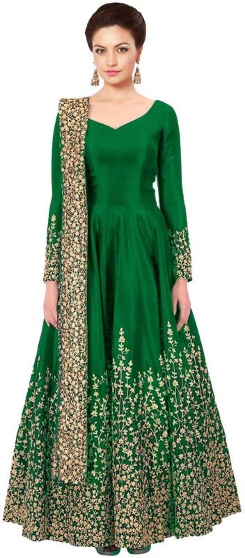 Aryan Fashion Store Embroidered Kurta & Salwar(Stitched)