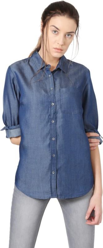 Allen Solly Women Solid Casual Shirt