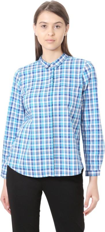 Allen Solly Women Checkered Formal Shirt