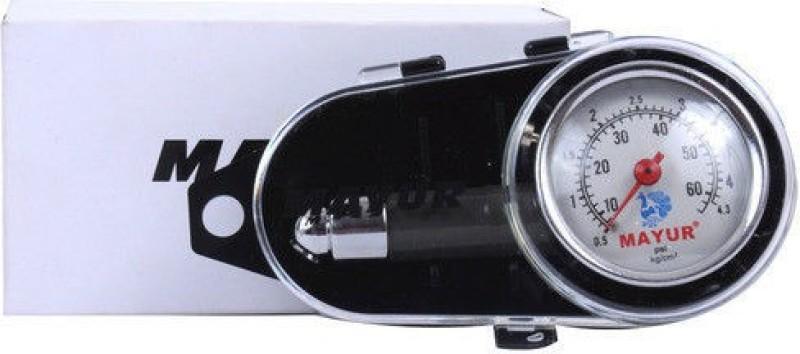 AutoRight Analog Tire Pressure Gauge Metal Body Tire Pressure Gauge(2 to 60 PSI)