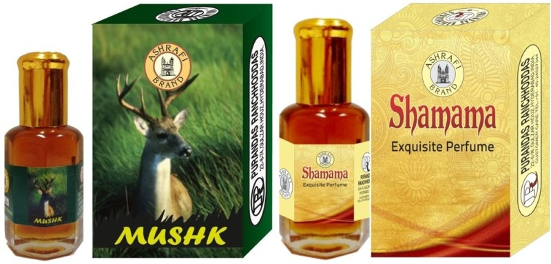 purandas-ranchhoddas-prs-mushk-shamama-6ml-each-herbal-attarmusk