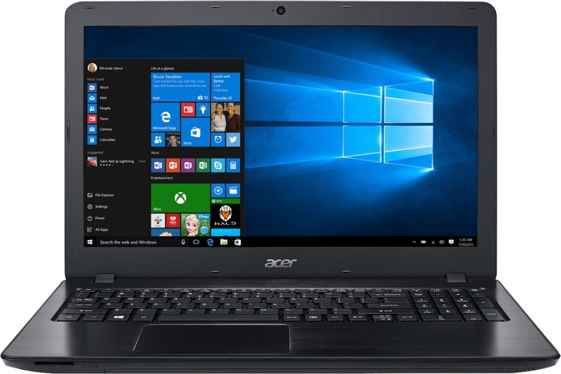 Acer Aspire F15 Core i5 7th Gen - (8 GB/2 TB HDD/Windows 10 Home/4 GB Graphics) F5-573 / F5-573G Laptop(15.6 inch, Black, 2.3 kg) image