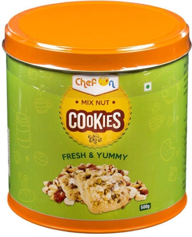 ChefOn Mix Nut Cookies 500 gm(500 g)