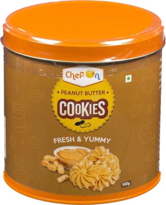ChefOn Peanut Butter Cookies 500 gm(500 g)