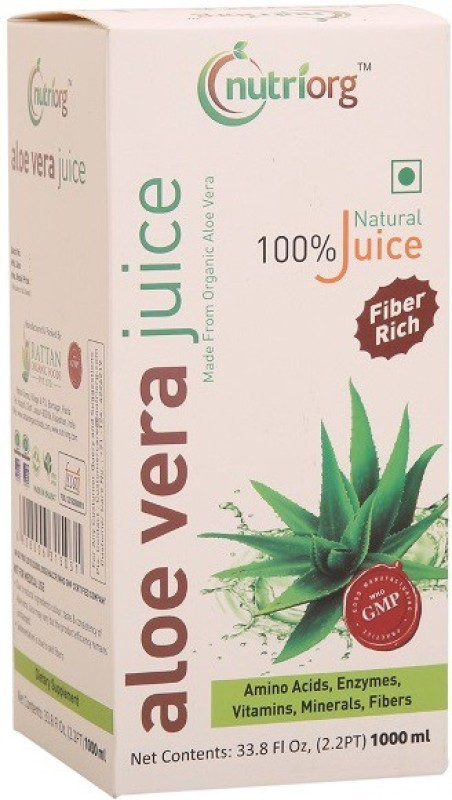Nutriorg Aloe vera Juice -1000ml 1000 ml