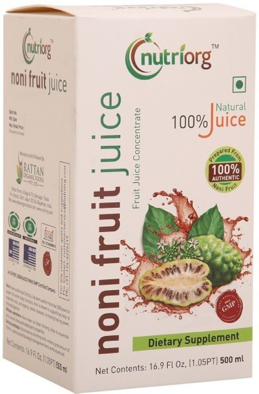 Nutriorg Noni juice 500 ml
