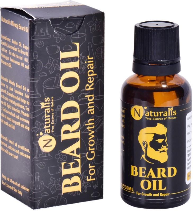 Naturalis Beard Oil For Hair Growth and Repair Hair Oil(30 ml)