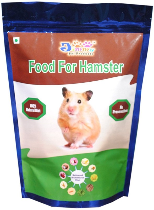 JiMMy JiMMy Food For Hamster - 900 GMS Pack 0.9 kg Dry Hamster Food