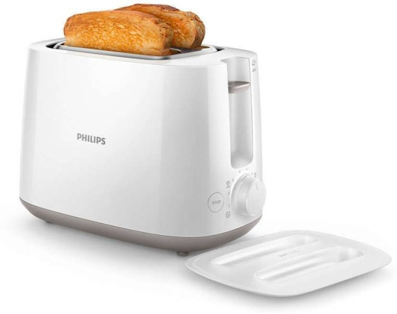 Philips HD2582/00 830 W Pop Up Toaster(White)