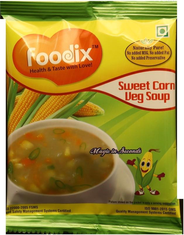 Foodix Sweet Corn Soup Mix -12g (Pack of 10)(120 g)