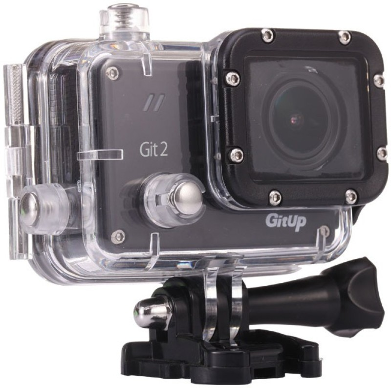 GitUp Git 2 Git2P Pro Packing 170 Degree Lens Sports and Action Camera(Black 16 MP)