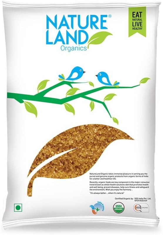 Natureland Organics Brown Sugar 1 Kg Sugar(1000 g)