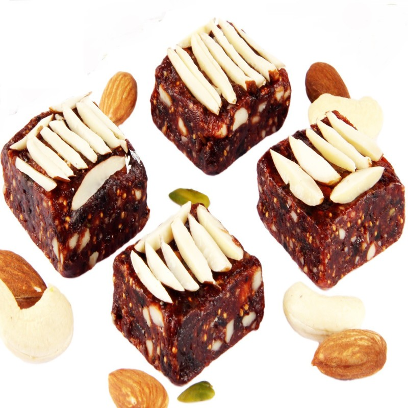 Ghasitaram Gifts Sugarfree Nut Khut(400 g, Box)