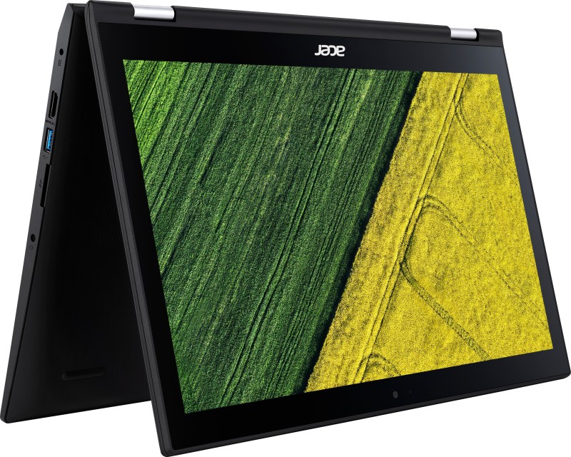 Acer Spin 3 Core i3 6th Gen - (4 GB/500 GB HDD/Windows 10 Home) SP315-51 2 in 1 Laptop(15.6 inch, Black, 2.15 kg, With MS Office) image