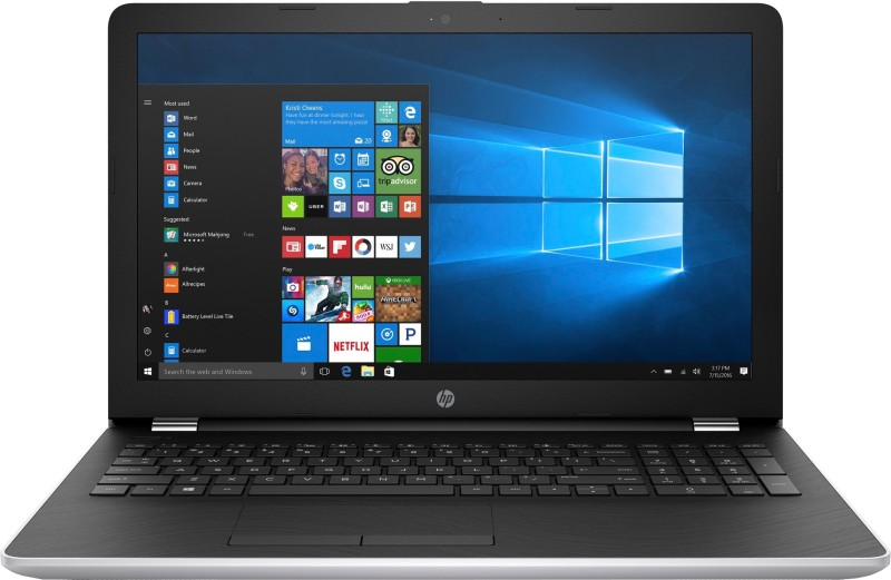 HP 15 Core i3 6th Gen - (4 GB/1 TB HDD/Windows 10 Home) 15-BS636TU Laptop(15.6 inch, Natural SIlver, 2.1 kg) image