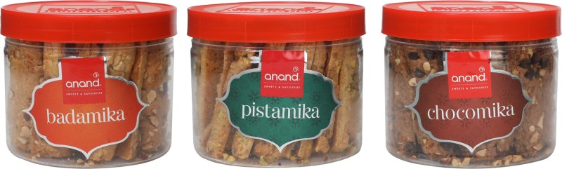 Anand Sweets Trio Pack(675 g, Pack of 3)
