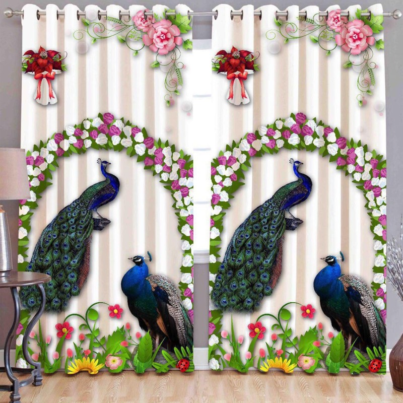 check MRP of 9 ft long curtains Dehati Store