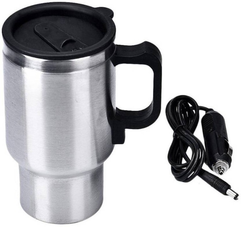 Bluebells India Car Travel Electric Stainless Steel Stainless Steel Mug Electric Kettle(448 L, steel)
