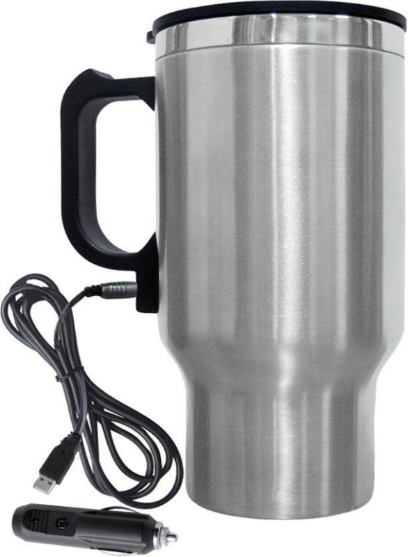 Benison India Car Travel Electric Stainless Steel Stainless Steel Mug Electric Kettle(448 L, steel)