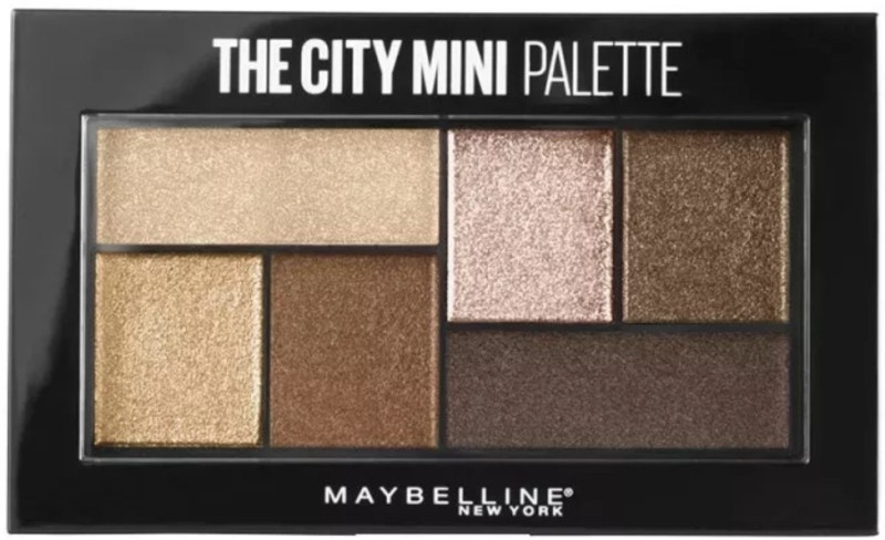 Maybelline The City Mini Palette 6.1 g(Rooftop Bronzes)