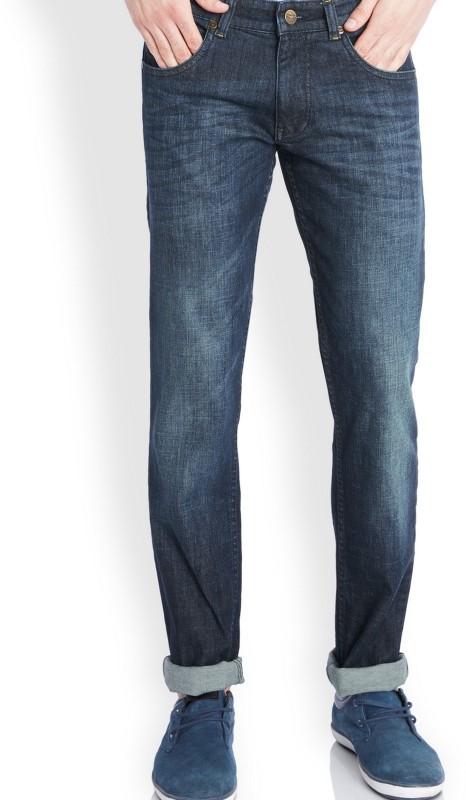 Park Avenue Slim Mens Blue Jeans