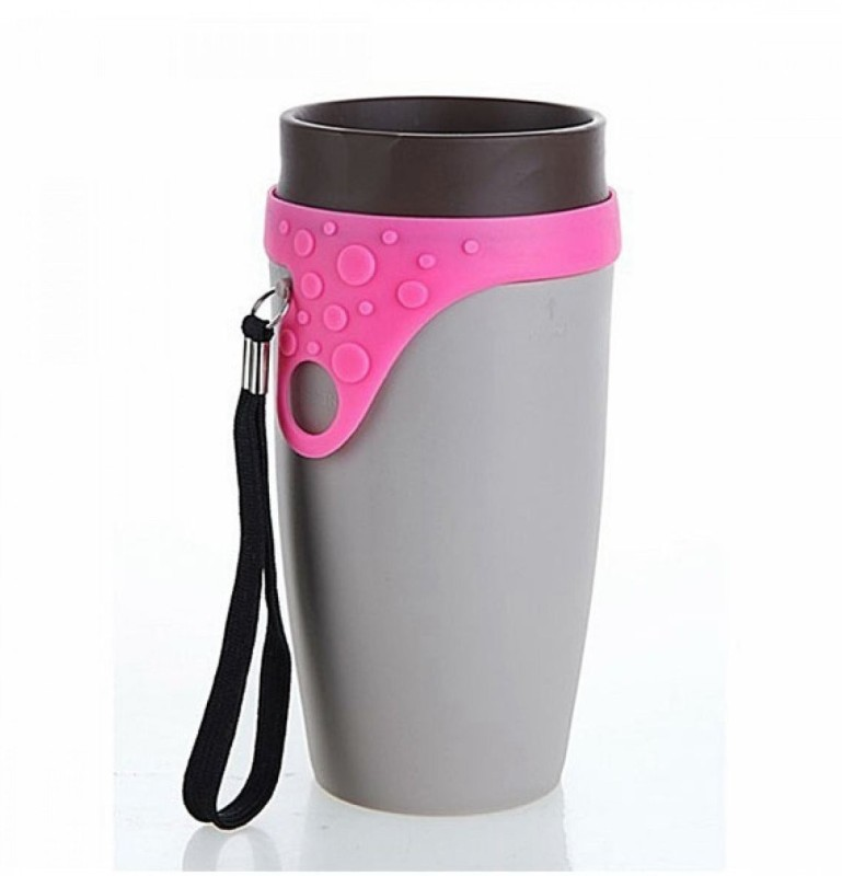 Happy2Buy Spin coffee Cup/Travel Tea cup/ Sports cup Measuring Cup(350 ml)