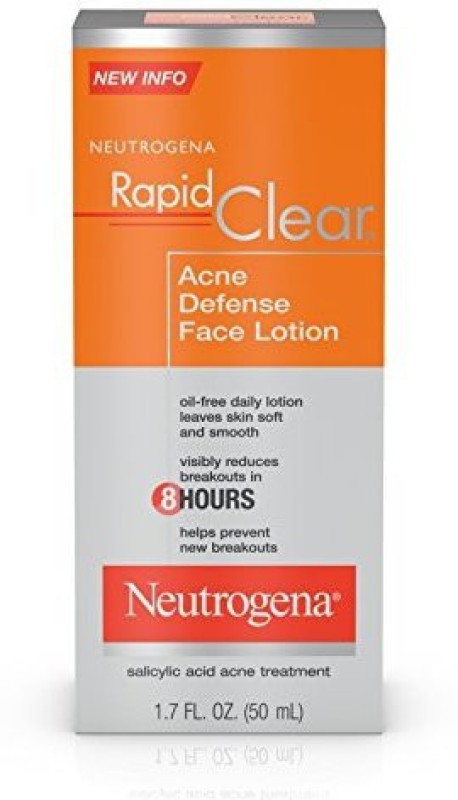 Neutrogena Rapid Clear Acne Defense Face Lotion(50.28 ml)