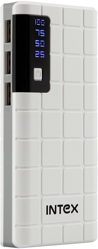 Intex 10000 mAh Power Bank (IT-PB 10K)(Ivory, Lithium-ion)