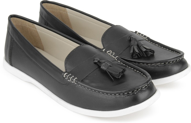 Miss CL By Carlton London MSCL-0022 Loafers For Women(Black)