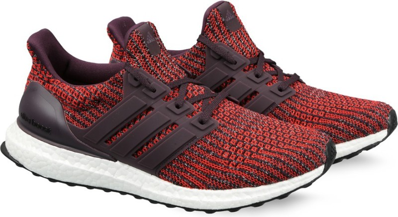 ADIDAS ULTRABOOST Running Shoes For Men(Red)
