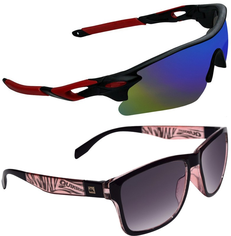 Ocnik Sports Sunglasses(Black) image