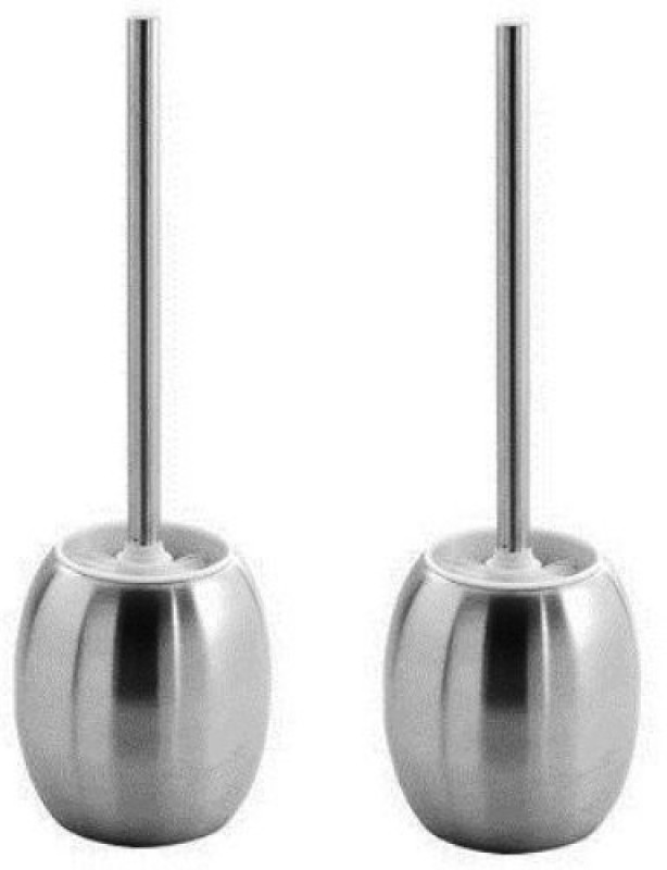 Flair ES_SS_TOILETBURSH_2PCSET Toilet Brush with Holder(Silver)