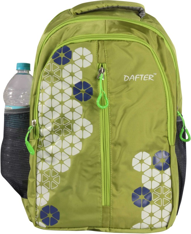 dafter Polyester 1.5 L Laptop Backpack(Green)