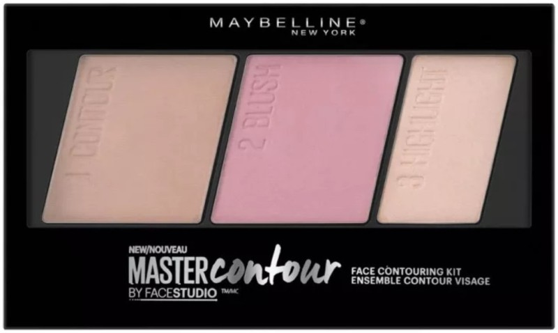 Maybelline Master Contour Face Contouring Kit(No. 10 Light to Medium)