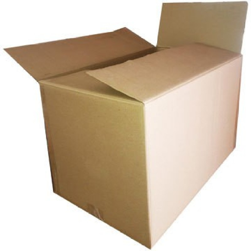 ADD-IT PRINTERS Heavy Duty Double Wall Carton Craft Paper 5Ply Home shifting, storage, shipment, packing 16inch x 13inch x 16inch (Pack of 15) Cartons Packaging Box(Pack of 15 Brown)