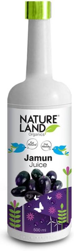 Natureland Organics Jamun Juice 500 Ml(500 ml)