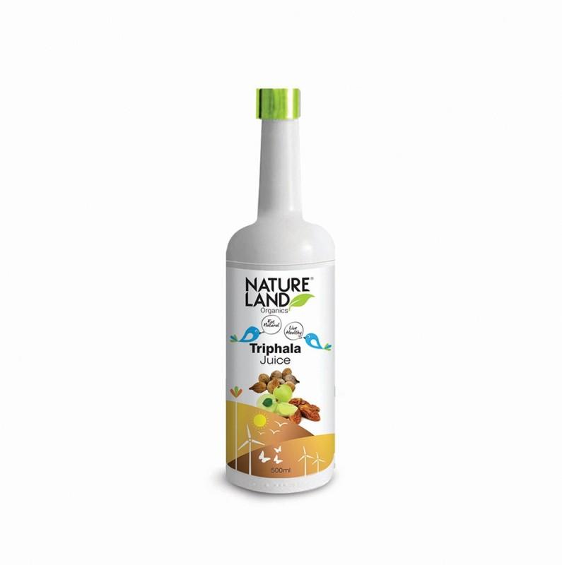 Natureland Organics Triphala Juice 500 Ml.(500 ml)